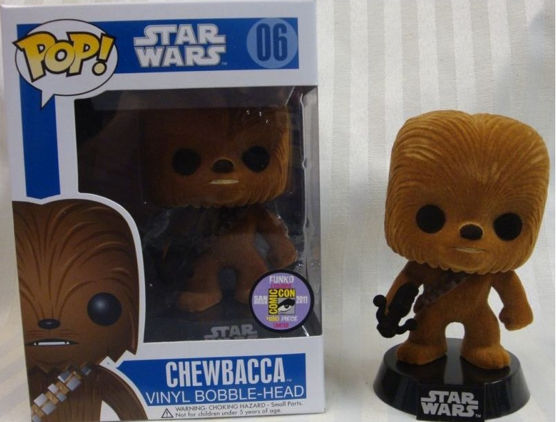 """Flocked"" Chewbacca [SDCC 2011]"