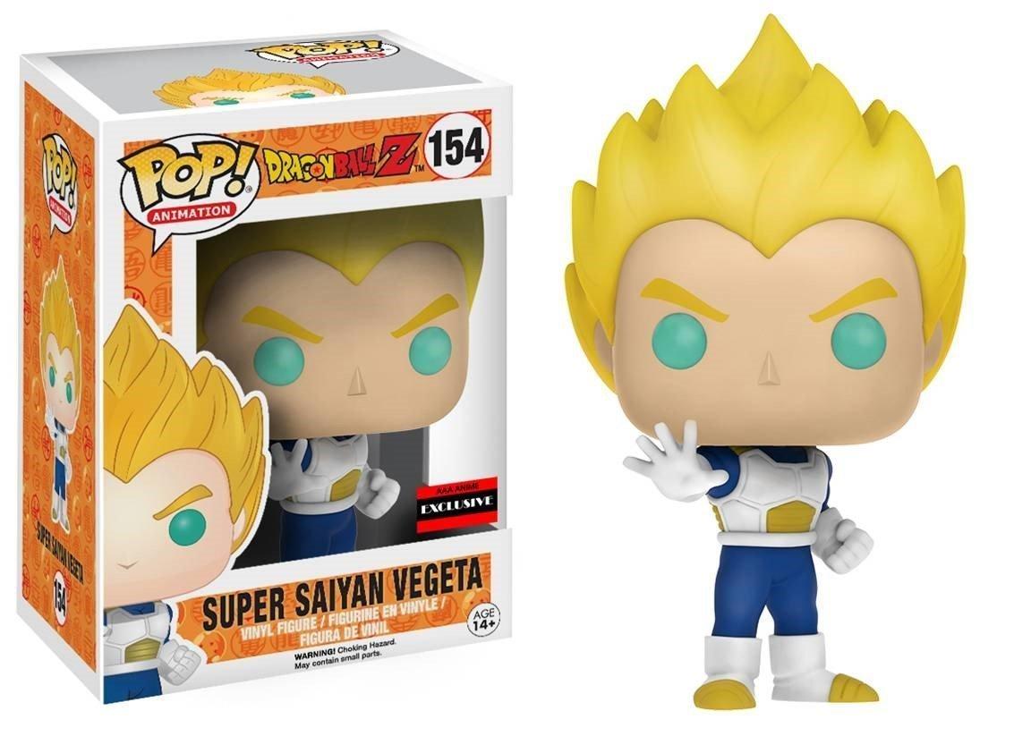 Dragon Ball Z: Super Saiyan Vegeta Funko POP Vinyl Figure AAA Anime Exclusive