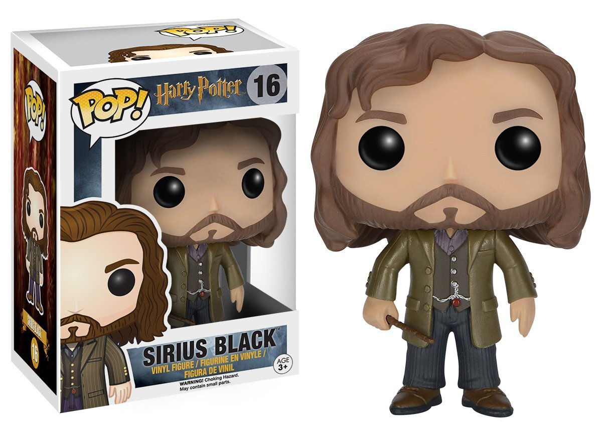 Funko POP Movies: Harry Potter Action Figure - Sirius Black
