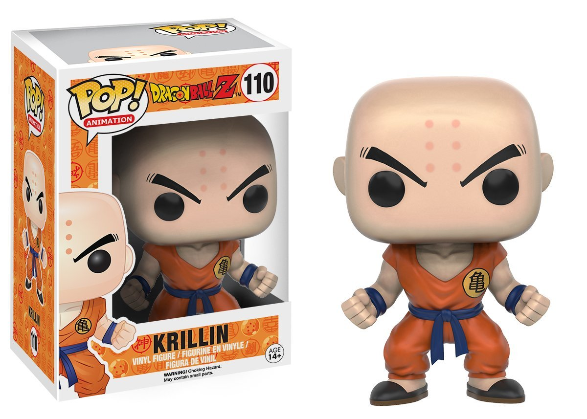 Funko POP Anime: Dragonball Z - Krillin Action Figure