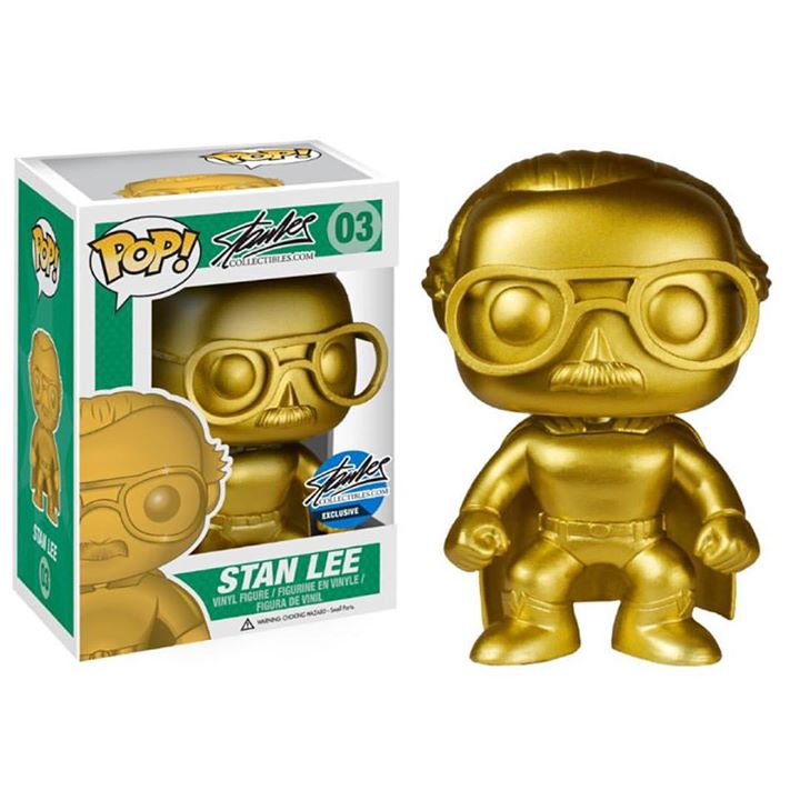 Gold Superhero Stan Lee (CE NYCC 15)
