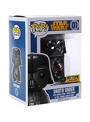 Chrome Darth Vader (Hot Topic)