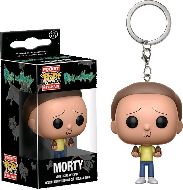 Llavero Morty