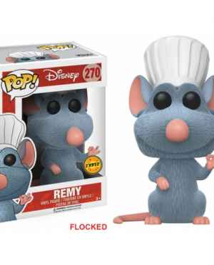 Remy Chase Limited Flocked Funko POP Disney Ratatouille