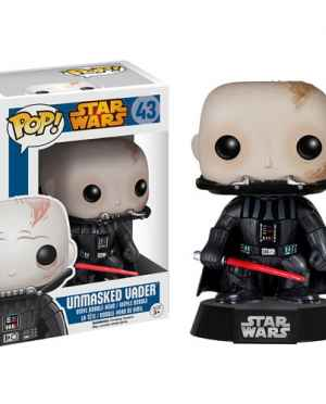 Unmasked Vader Funko POP! Star Wars