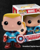 Unmasked Captain America [Comikaze]