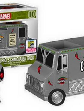 X-Force Deadpool's Chimichanga Truck (SDCC 215)