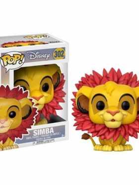 Simba (Leaf Mane) Funko POP! Disney The Lion King