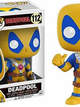 Funko Marvel Deadpool Pop Vinyl Yellow and Blue Suit Exclusive