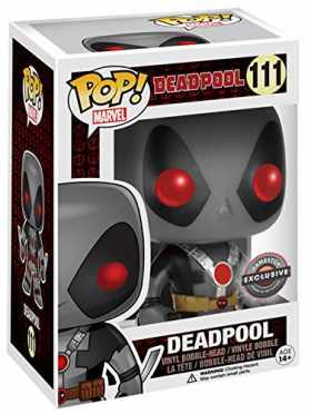 Pop! Marvel Deadpool Vinyl Bobble-Head Deadpool Gray #111 EB Games/ Gamestop Exclusive
