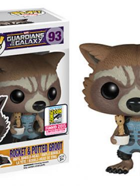 Nova Rocket Raccoon with Baby Groot