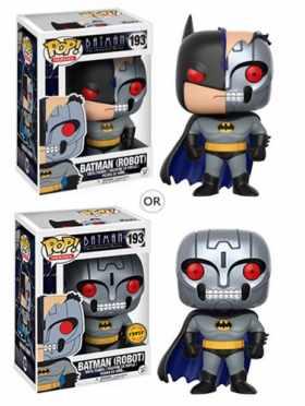 Batman (Robot) Funko POP Heroes Batman Animated Series