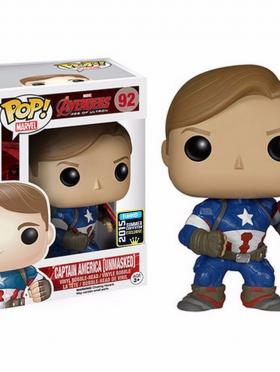 Unmasked Captain America Funko PoP! 2015 Convention Exclusive