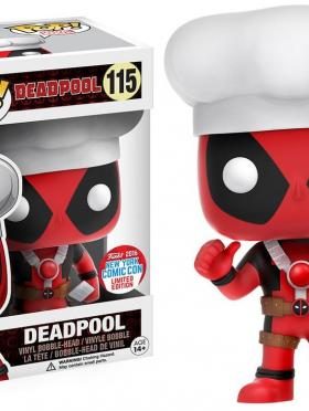 Funko Pop Chef Deadpool NYCC 2016 Exclusive Vinyl Bobblehead Figure