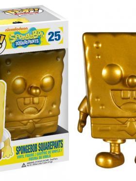Funko POP TV: Gold Spongebob Action Figure