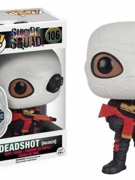 Funko POP Movies: Suicide Squad Action Figure, Deadshot (Masked)