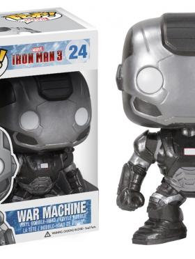 Funko POP Marvel Iron Man Movie 3: War Machine Action Figure