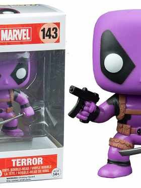 Funko Pop! Marvel #143 Deadpool Terror Purple