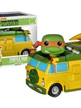 FunKo POP Rides: TMNT - Turtle Van Toy Figure
