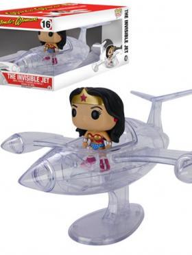 Wonder Woman w/Invisible Jet