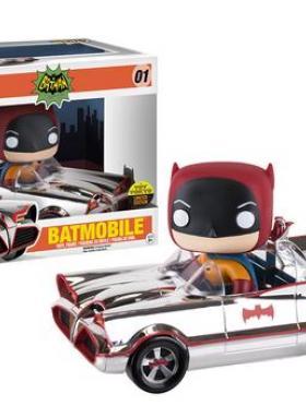 Chrome Batmobile (Toy Tokyo SDCC 16)