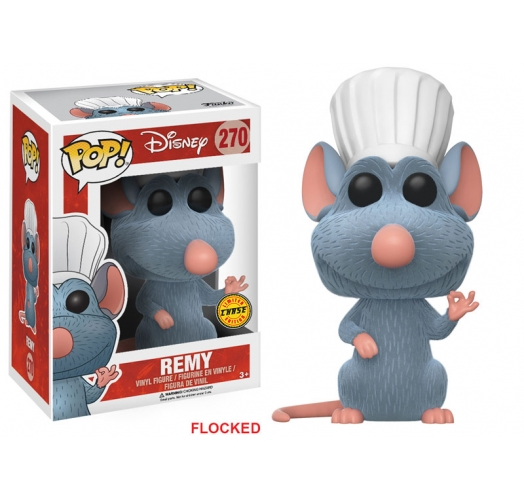Remy Chase Limited Flocked Funko POP Disney Ratatouille