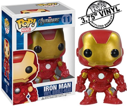 Funko Pop Marvel (Bobble): Avengers - Iron Man