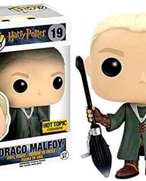 Draco Malfoy Quiddich Hot Topic Exclusive Funko Pop