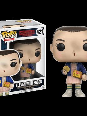 Eleven whit eggos